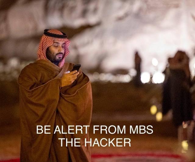 """Photo of قرصنة بن سلمان هاتف مؤسس """"أمازون"""" تتصدر الإعلام الغربي"""