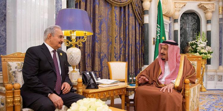 Photo of نظام آل سعود يضاعف دعمه لحفتر بحثا عن النفوذ في ليبيا