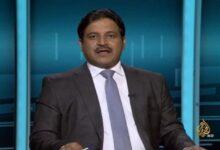 المذيع في قناة الجزيرة