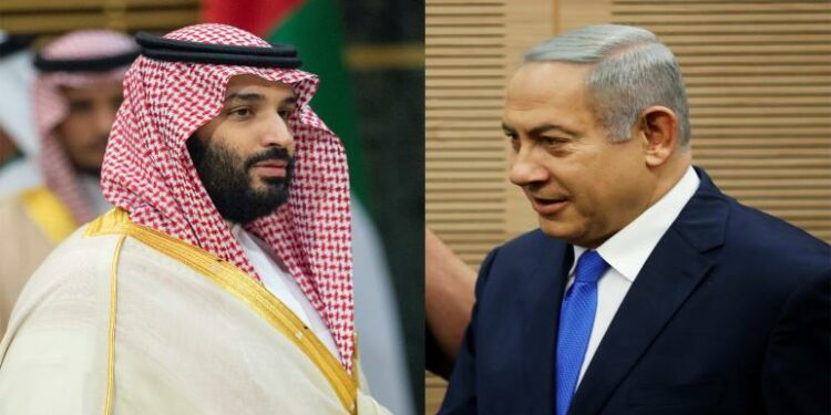لقاء سعودي إسرائيلي