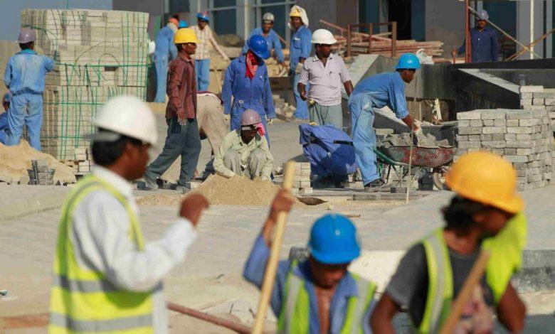 عمال وافدين في السعودية